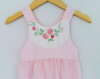 Size 1 - Vintage Embroidered Dress