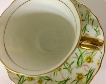 Vintage Fred Roberts Cup and Saucer Set