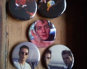 The Clash Pins