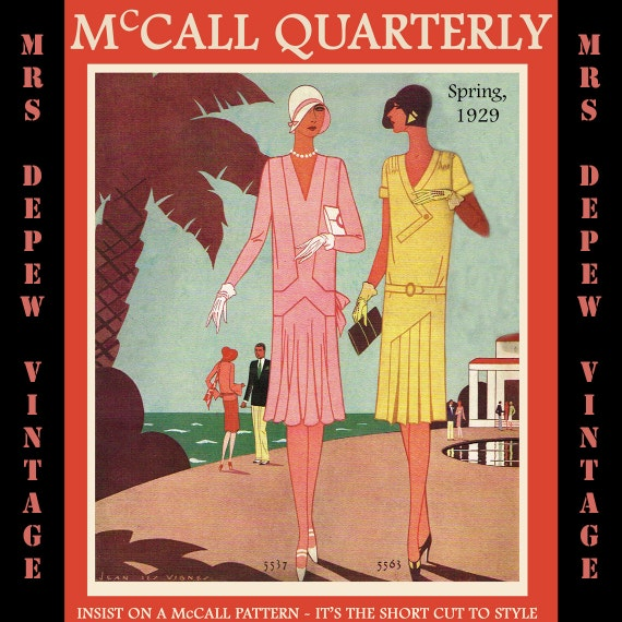 Vintage Sewing Pattern Catalog Booklet McCall Quarterly Spring