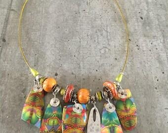 Collier boheme - les tropiques - nouvelle collection