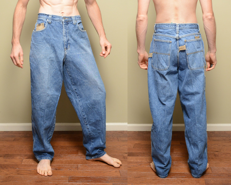 vintage 90s JNCO jeans JNCO Los Angeles wide leg baggy pants
