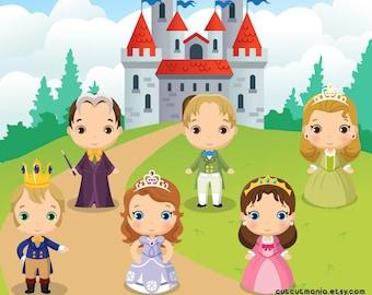 Princess Sofia Clipart Set, Instant Download, Sofia the first, Princess Sofia party, Disney princess clipart