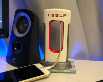 Tesla Style Supercharger Mobile/Cell Phone Charger