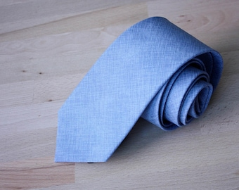 Mens Necktie Dusty blue necktie Wedding Tie Men's skinny tie Necktie for Men Gift for groomsmen 111tc