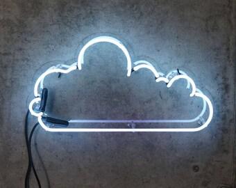 Cloud - White Neon Art (AUS)