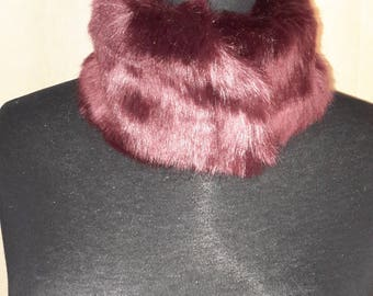 Luxurious Faux Fur Collar Scarf