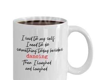 Dancer Mug, Gift For Dancer, Dance Teacher Gift, Dancer's Coffee Mug, Teacher Gift, gift For Her.