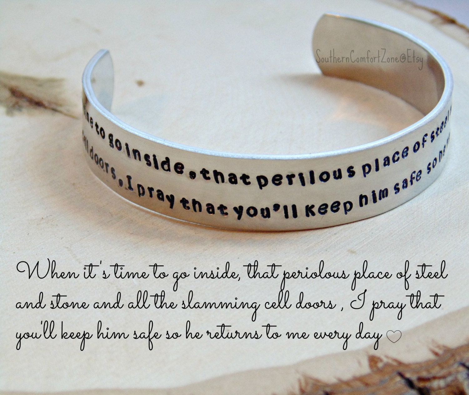 Correctional officer prayer bracelet jewelry cuff leo zoom altavistaventures Image collections
