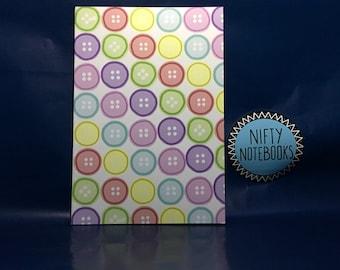 Buttons A5 notebook