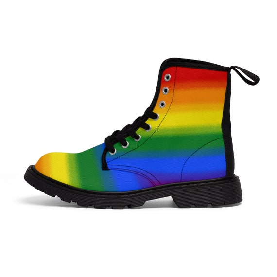 8a055b2329aee Pride Pride Sizing Boots Ace Lesbian Fade Queer Womens Gay Pride ...