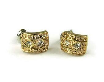 Vintage Roman Stud Earrings