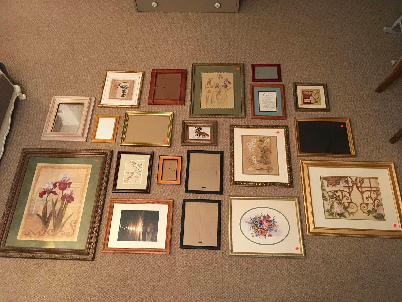 Sistema de medida 20 marcos; 20 grandes marcos; Collage de pared de ...