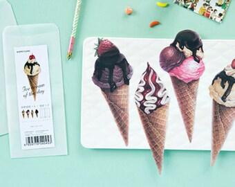 Ice Cream Letter Writing Set Writing Paper Envelope Set