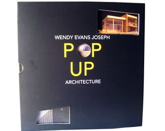 Pop Up Architecture Book - Architecture Art - Modern Home - Sculpture Book -Architecture Book - Architect Gift - Architectural Model