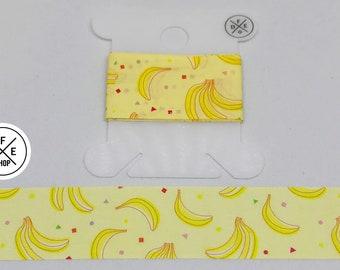 "Washi Tape Sample 24"" | Bananas | Scented"