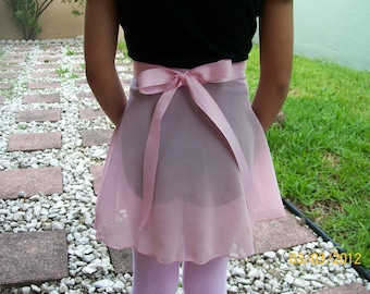 Child X-Small Wrap Skirt, Many Colors, Ballet Skirt, Ballet Wrap Skirt, Dance Skirt, Ice Skating Skirt, Child Ballet Skirt
