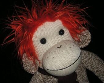 Ron Weasley Sock Monkey Doll - Harry Potter