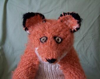 Lil Boy Red Fox Knit Pattern
