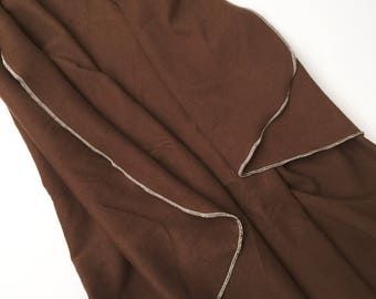 Chocolate Brown Swaddle Blanket