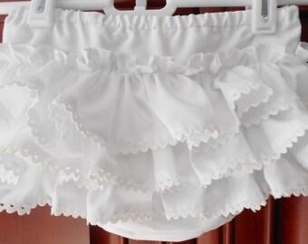 Girls Ruffled Diaper Cover
