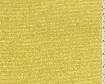 Bright Yellow Hammered Satin Charmeuse, Fabric By The Yard