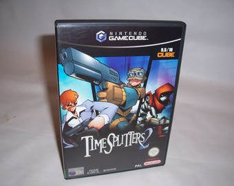 Time Splitters 2 Nintendo Gamecube Pal CIB (Amazing condition)