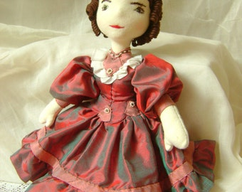 Miss Matilda, a Waldorf-inspired, Victorian dressed doll