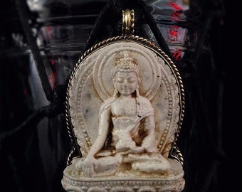 Water Vessel: White Buddha