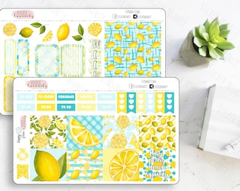 Lemonade Stand Mini Happy Planner Kit