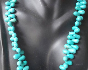 African jewelry, Turquoise necklace, African necklace, Turquoise jewelry, African necklace, Beaded necklace, Beaded jewelry, Turquoise beads