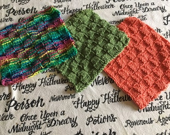 NEW! Dishcloths (various colors)