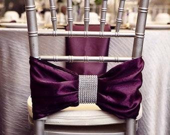 Diamond Mesh Chair Sash Wraps Pack of 25