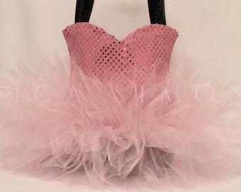 Personalized Sparkle Ballet Tutu Tote Bag   Medium   Dance Bag   Ballerina Tutu Bag Monogram