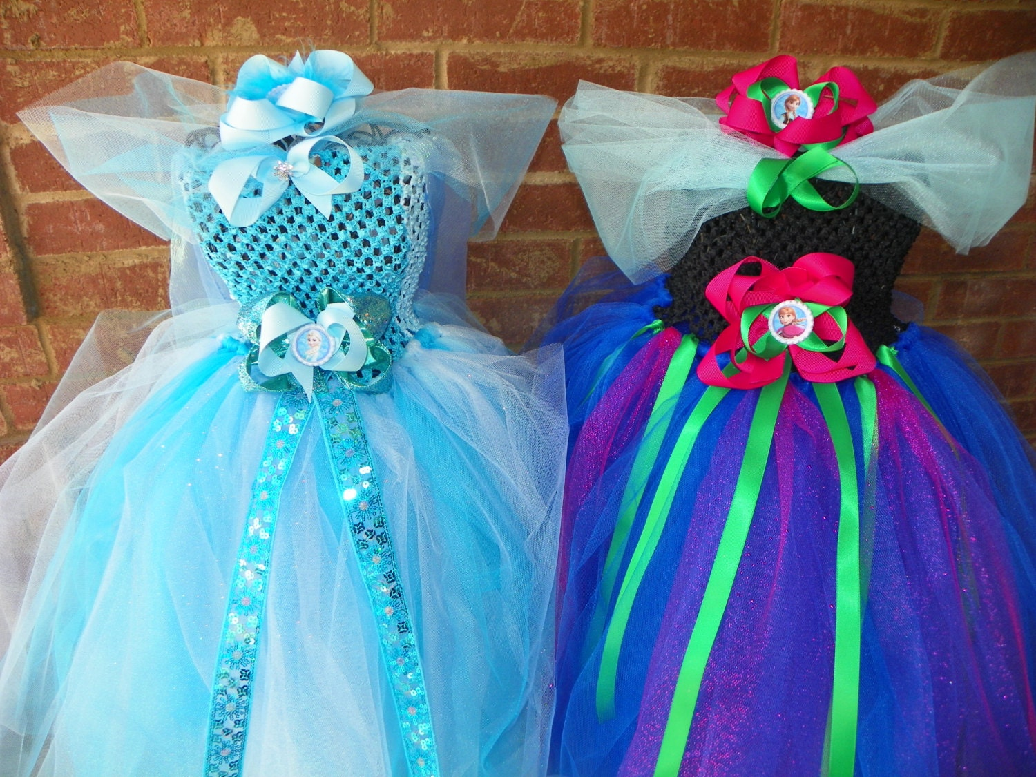 SALE Get Ready For Halloween Matching Sibling Frozen Anna