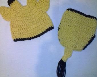 Crochet 2 piece giraffe diaper set, newborn photo props, newborn photography, crochet photo prop, crochet giraffe, giraffe diaper cover