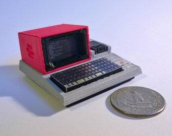 Mini Sharp MZ80K - 3D Printed!