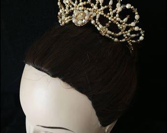 Wonderful ballet headpiece, tiara for ballerinas,Ballet tiaras