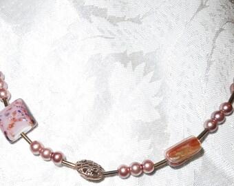 Mauvelous Necklace   Item #1028