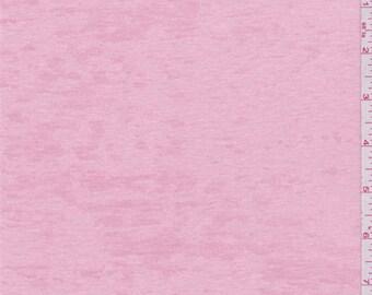 Creamy Pink Microrib Burnout, Fabric By The Yard