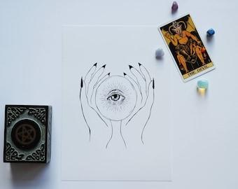 Seer -- Art Print