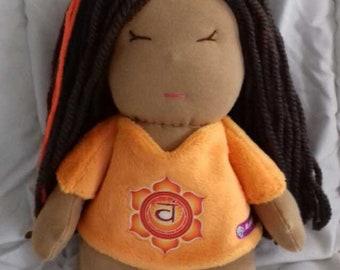 Sacral chakra doll * Svadhisthana *.