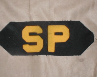 Vintage obsolete Military NAVY SP Patch 1950's