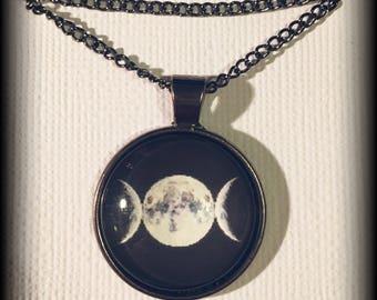 Triple Moon pendant