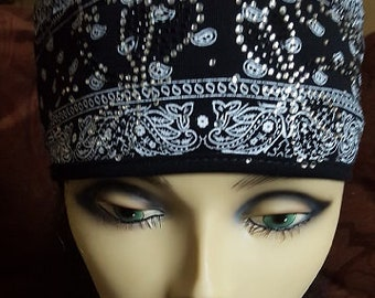 "Bandana Headband  ""Hanky Dragonfly's"" Polly Pony"