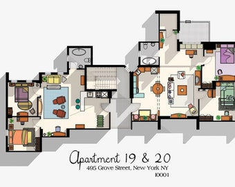 Poster of Friends Apartment 19 & 20
