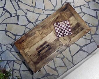 Timber table UMA 180 x 96 cm
