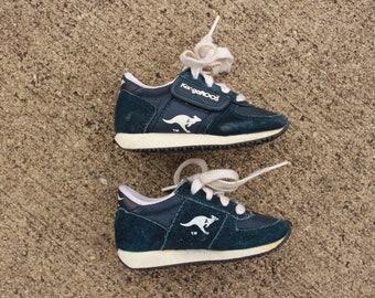 Navy Kangaroo Sneakers size 7