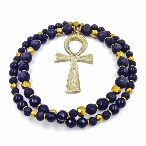 Ankh Necklace Gold Ankh Jewelry Gold Ankh Ankh Jewelry Ankh