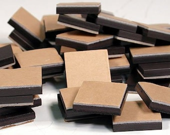 "Magnets 3/4"" Square With Adhesive Foam Backing 250 PCS!"